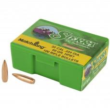Sierra Bullets, MatchKing, 22 Cal, 69 Grain, 100 Count