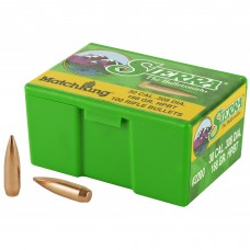 Sierra Bullets, MatchKing, 30 Cal, 168 Grain, HPBT, 100 Count