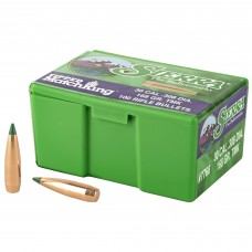 Sierra Bullets, Tipped MatchKing, 30 Cal, 168 Grain, 100 Count